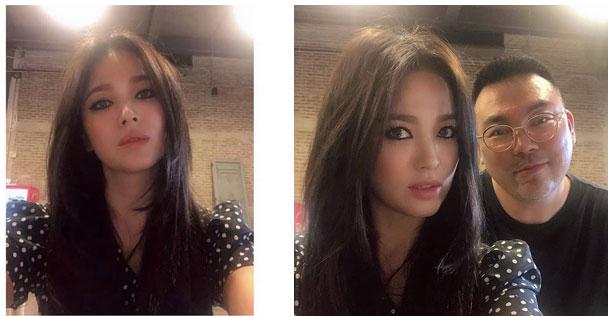 Hậu ly hôn, Song Hye Kyo lột xác với kiểu trang điểm sắc, trang phục cũng hở bạo và không kín mít như hồi trước-6