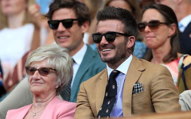 David Beckham ở tuổi 44 vẫn đẹp trai lãng tử, khí chất ngút trời, làm sáng rực một góc khán đài Hoàng gia-1