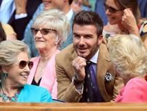David Beckham ở tuổi 44 vẫn đẹp trai lãng tử, khí chất ngút trời, làm sáng rực một góc khán đài Hoàng gia