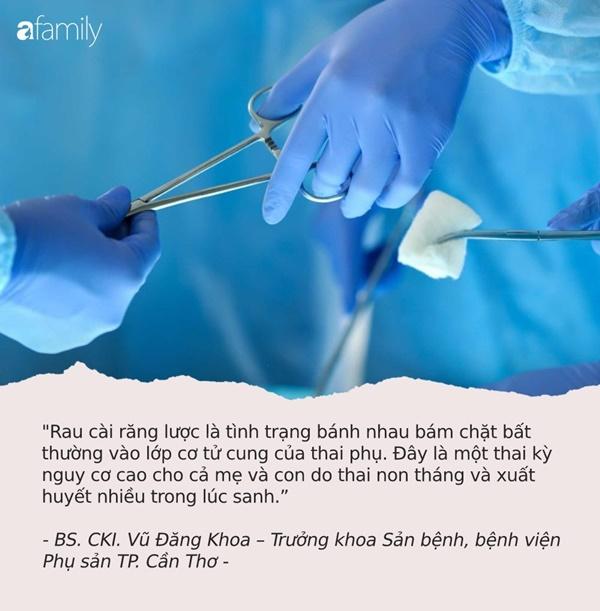 Rau cài răng lược: Biến chứng sản khoa khiến bác sĩ hãi hùng, có thể đoạt mạng thai phụ trong chớp mắt-3