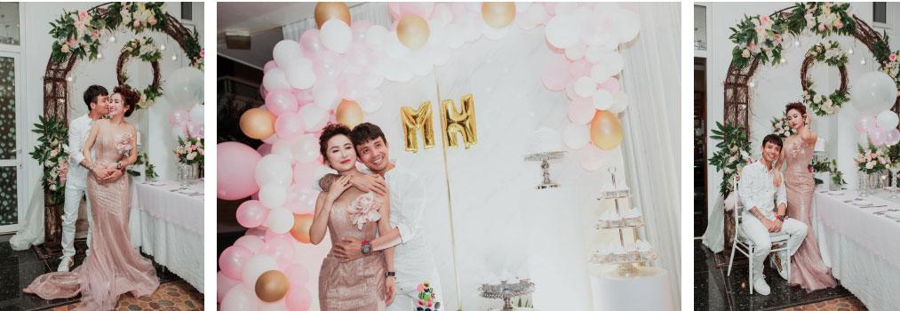 Đại gia Minh Nhựa ôm eo vợ, tổ chức kỷ niệm cầu hôn bằng buổi tiệc hoành tráng, cùng chuyến du lịch siêu sang-2