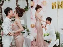 Đại gia Minh Nhựa ôm eo vợ, tổ chức kỷ niệm cầu hôn bằng buổi tiệc hoành tráng, cùng chuyến du lịch siêu sang