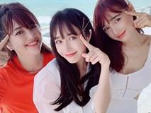 Bất ngờ trước nhan sắc giống hệt nhau của 3 chị em Nhã Phương trong hình ảnh đi nghỉ dưỡng cùng gia đình