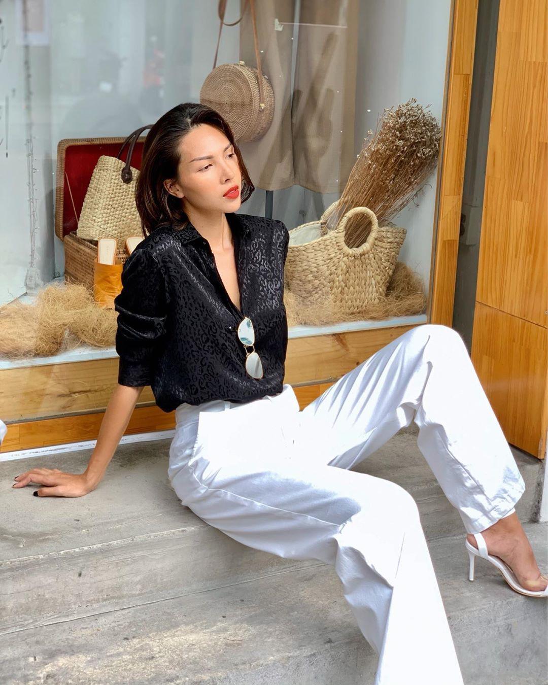 Làm chủ công thức diện đồ đen - trắng với 13 ý tưởng từ sao nữ Việt, và style của bạn sẽ lên đời thấy rõ-5