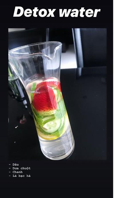 Bạn gái Lâm Tây gợi ý công thức làm uống nước detox cho 1 tuần, giúp giữ dáng và thải độc cơ thể-3