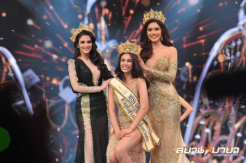 Tân Hoa hậu Hòa bình Thái Lan bị chê kém sắc và xấu tính-1