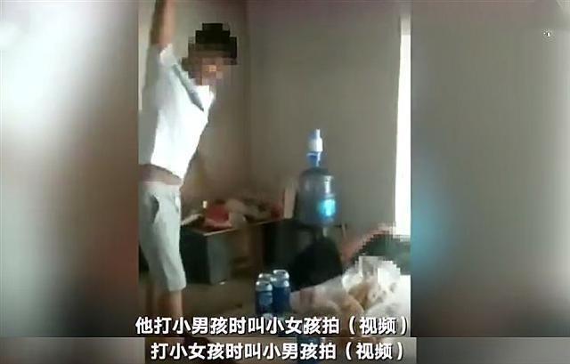 Phẫn nộ với đoạn video người đàn ông đánh hai đứa con thừa sống thiếu chết với lý do không thể tin nổi-3