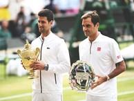 Djokovic đi vào lịch sử bằng chức vô địch Wimbledon trước Federer