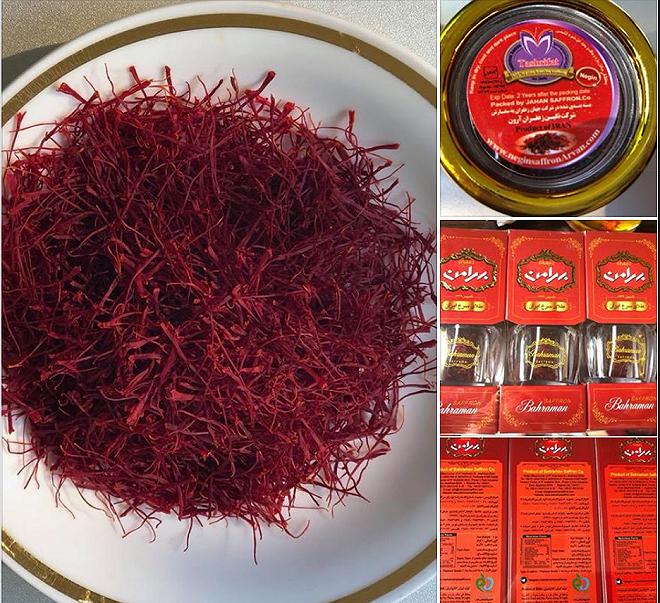 Tràn lan nhụy hoa nghệ tây giá rẻ không rõ xuất xứ-2