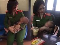 Giải cứu thành công người cha ôm con gái 7 tháng tuổi lên cầu Nhật Tân với ý định tự tử