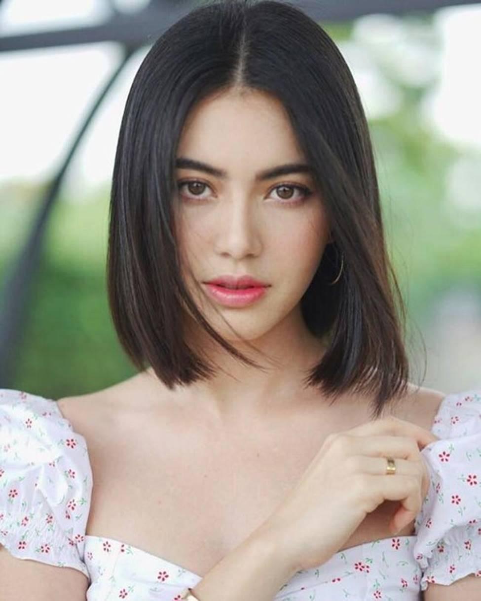 Học ma nữ đẹp nhất Thái Lan cắt phăng tóc dài, để 1001 kiểu tóc ngắn quyến rũ-7