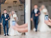 Nữ nhiếp ảnh gia than phiền về bức ảnh cưới chụp lỗi bởi vị khách vô duyên, nói trúng