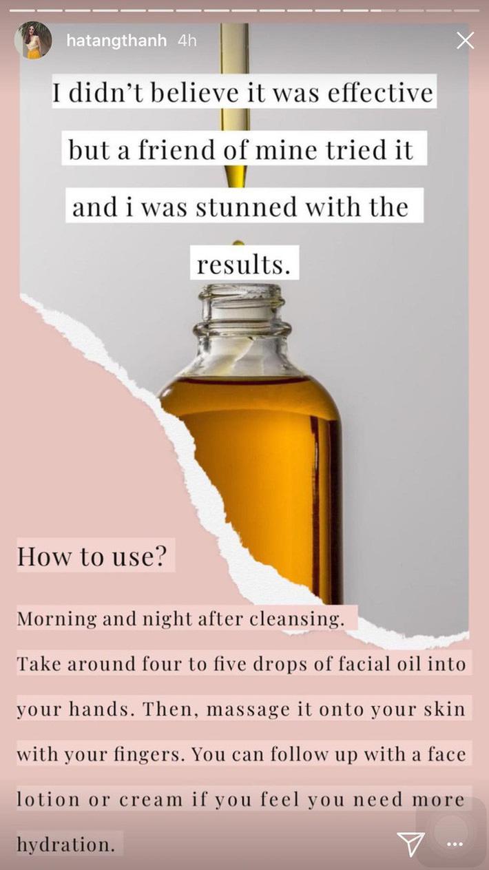 5 bí mật làm nên làn da không tuổi của Hà Tăng: Dùng dầu dưỡng, chọn đúng serum và quan trọng là chế độ ăn-4