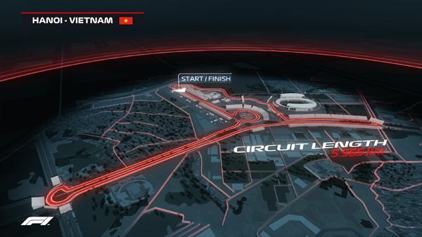 Mở bán toàn bộ hạng vé chặng đua F1 Việt Nam-1