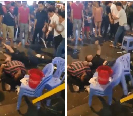 3 thanh niên liên tục giãy giụa, co giật, sùi bọt mép giữa phố Bùi Viện nghi do sử dụng cỏ Mỹ kết hợp bóng cười-2