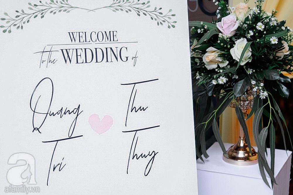 Cận cảnh không gian hôn lễ ngọt ngào, ấm cúng của Thu Thủy và chồng điển trai-10