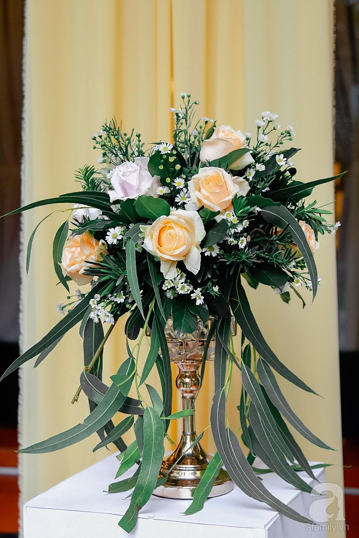 Cận cảnh không gian hôn lễ ngọt ngào, ấm cúng của Thu Thủy và chồng điển trai-7