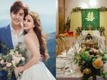 Cô dâu Thu Thủy xinh đẹp rực rỡ, e ấp bên chú rể kém 10 tuổi trong ngày đón dâu-13