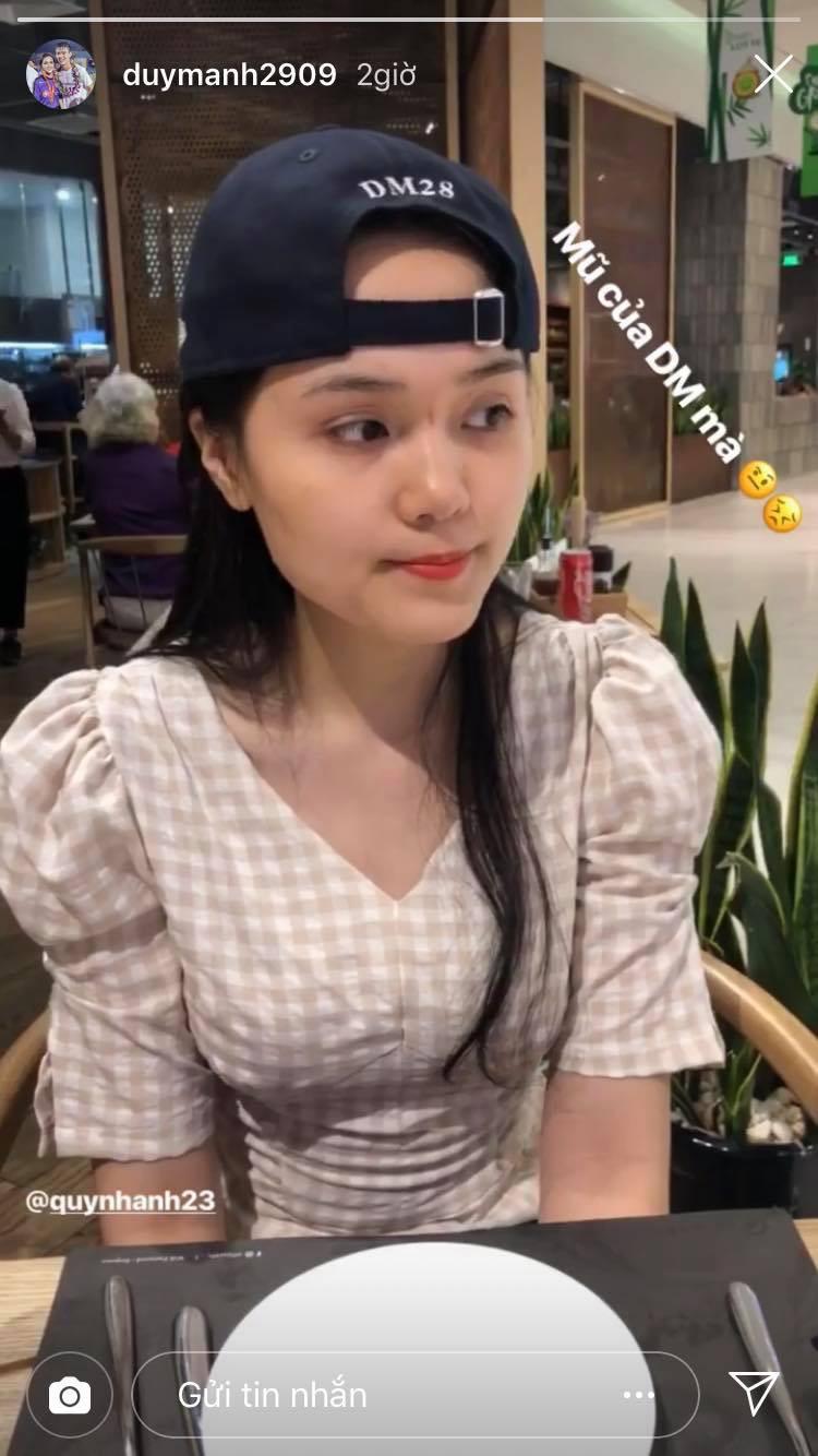 Báo viết Duy Mạnh là người hiền khô, bạn gái Quỳnh Anh ngay lập tức phản pháo hài hước-2
