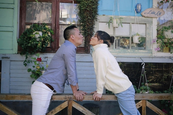 Vẫn là Đà Lạt tạo nên những khoảnh khắc tình bể bình của cặp đôi Mạnh Hùng - Hoàng Linh-10