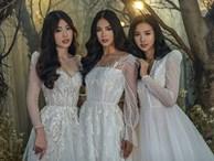 Tiểu Vy - Phương Nga - Thúy An khiến giới mộ điệu rần rần khi diện váy cưới siêu lộng lẫy