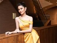 Á hậu Thuỳ Dung gợi cảm làm MC vào ngày kỷ niệm 500 ngày yêu với bạn trai