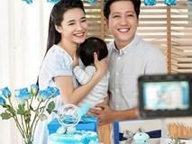 Trường Giang - Nhã Phương khoe ảnh cả gia đình 3 người, lần đầu tiên thừa nhận đã có em bé?