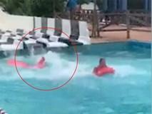 Chỉ vì trò chơi quen thuộc ở công viên nước, chàng trai trẻ gặp tai nạn gãy cổ và cột sống, đối mặt với nguy cơ bị liệt suốt đời