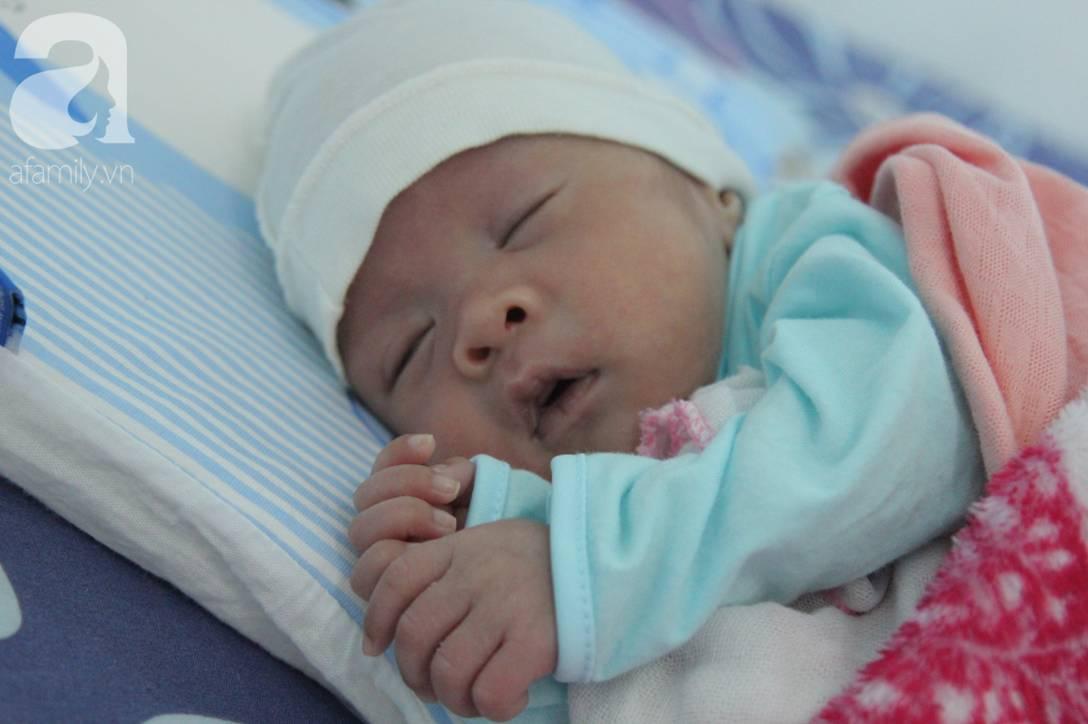 Nụ cười hạnh phúc của mẹ Liên: Bình An ngủ ngoan nhé, mẹ đi bệnh viện rồi sẽ sớm về nhà chơi với con-2