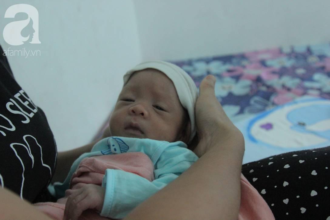 Nụ cười hạnh phúc của mẹ Liên: Bình An ngủ ngoan nhé, mẹ đi bệnh viện rồi sẽ sớm về nhà chơi với con-6