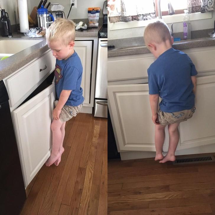 18 bức ảnh chứng minh khả năng nghịch ngợm của trẻ là không giới hạn, ai nuôi con nhỏ nhìn là hiểu-4