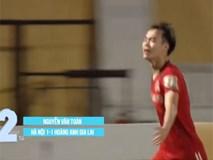 Văn Toàn 'xé gió' lập công lọt top 5 bàn thắng đẹp nhất