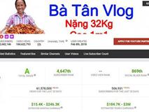 Sau hơn 1 tháng Youtube bật chức năng kiếm tiền, thu nhập 'khủng' của bà Tân Vlog khiến ai nghe xong cũng choáng