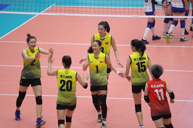 U23 Việt Nam vào bán kết giải bóng chuyền nữ châu Á-2