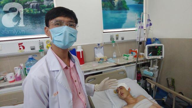 Con trai bị tai nạn dập não, bố chỉ nói câu đang bận rồi cúp máy, người mẹ nghèo bật khóc giữa bệnh viện-8