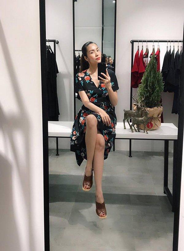 """Lâu lâu mới diện váy bánh bèo, Tăng Thanh Hà được fan ưu ái gọi cô gái đôi mươi""""-10"""