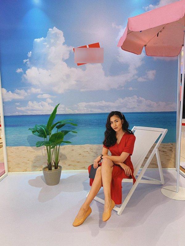 """Lâu lâu mới diện váy bánh bèo, Tăng Thanh Hà được fan ưu ái gọi cô gái đôi mươi""""-6"""