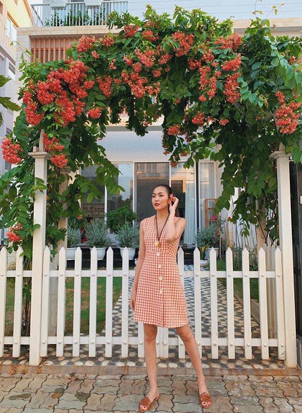 """Lâu lâu mới diện váy bánh bèo, Tăng Thanh Hà được fan ưu ái gọi cô gái đôi mươi""""-8"""