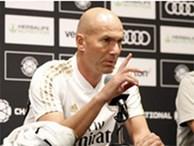 HLV Zidane tiếp tục 'đóng băng' Gareth Bale