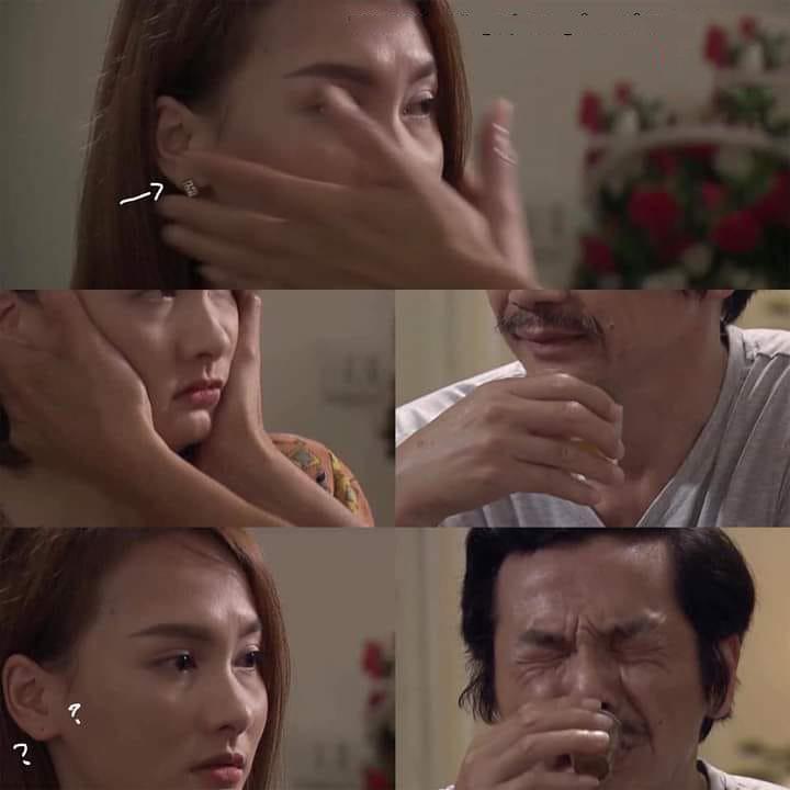 Cảnh phim xúc động nhất tập 69 Về nhà đi con lại trở nên hài hước bởi chiếc hoa tai, dân mạng thích thú gọi tên cô Hạnh-3