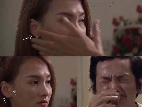 Cảnh phim xúc động nhất tập 69 Về nhà đi con lại trở nên hài hước bởi chiếc hoa tai, dân mạng thích thú gọi tên cô Hạnh