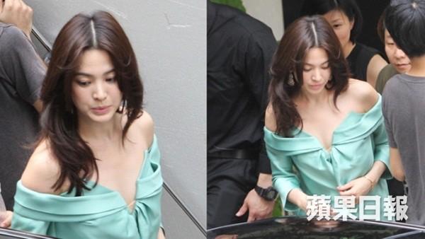 Đâu phải bây giờ mới táo bạo, Song Hye Kyo từng có những khoảnh khắc khoe vòng 1 đầy đặn nóng bỏng thế này cơ mà-3