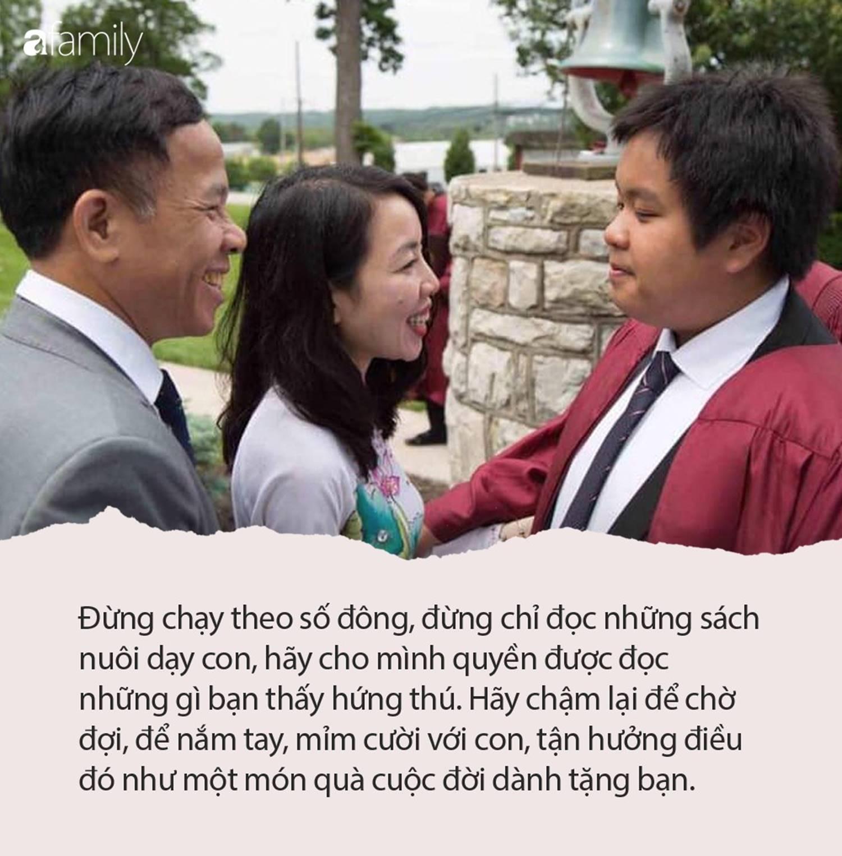 Mẹ Đỗ Nhật Nam: Đừng để con nghĩ rằng, nhiệm vụ của cuộc đời chúng chỉ là làm hài lòng cha mẹ-2