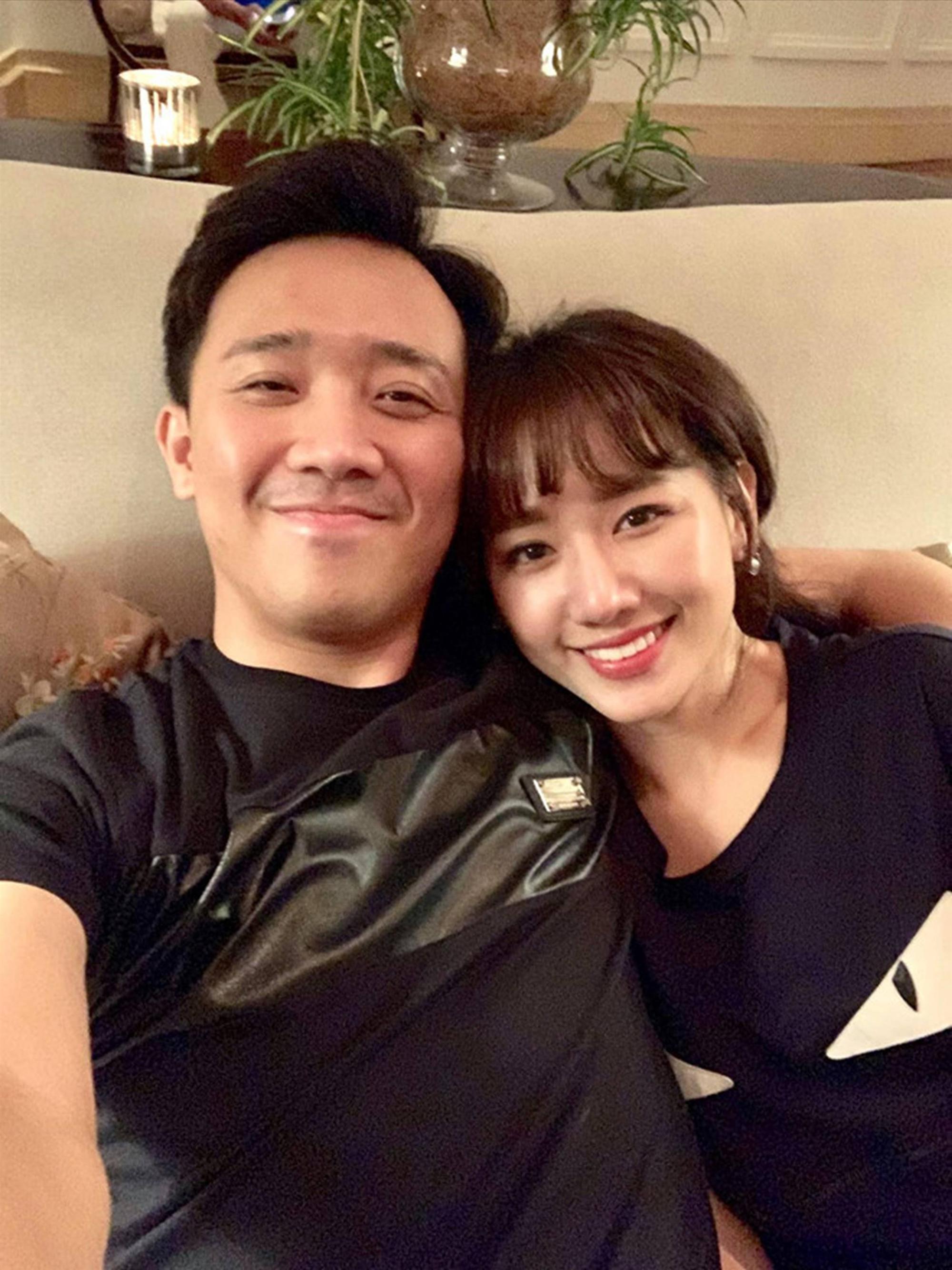 Ảnh đời thường ngọt ngào của Trấn Thành và Hari Won-2