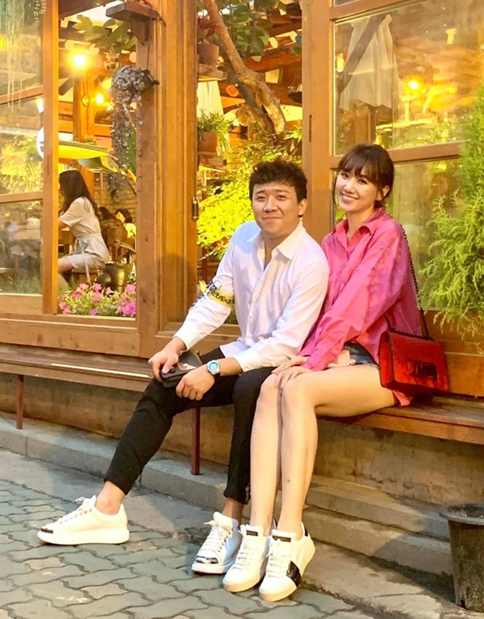 Ảnh đời thường ngọt ngào của Trấn Thành và Hari Won-4