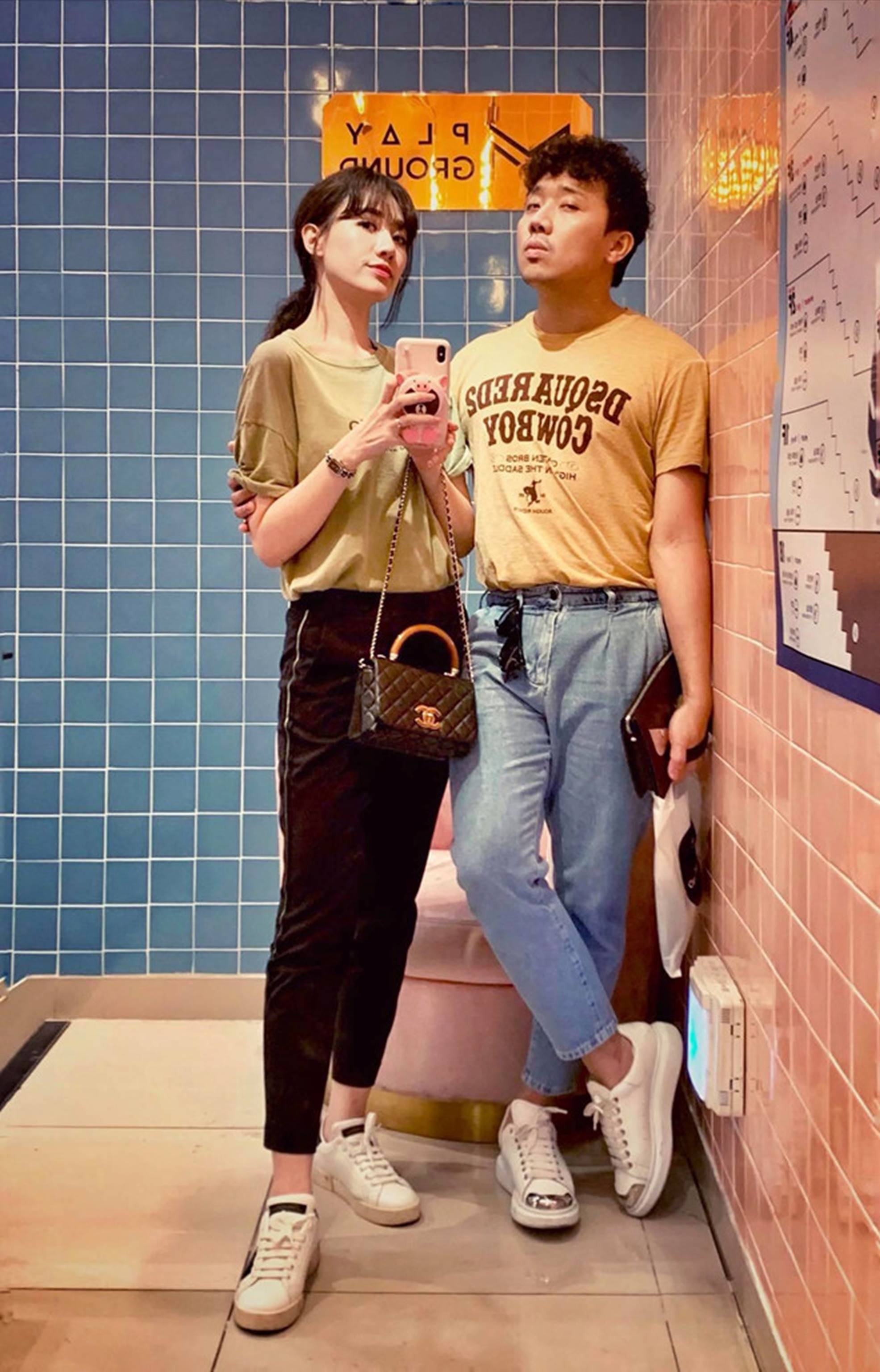 Ảnh đời thường ngọt ngào của Trấn Thành và Hari Won-7