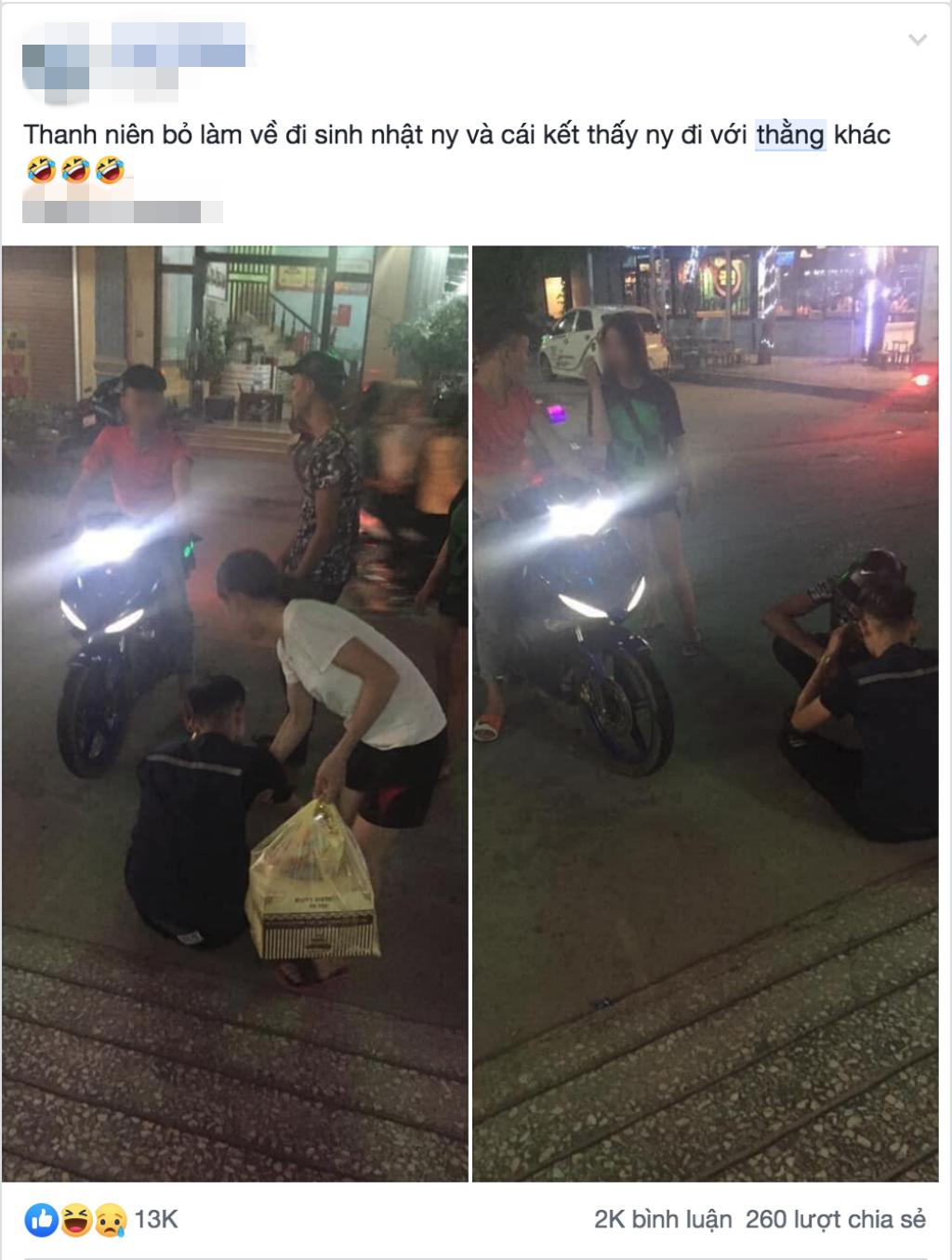 Nghỉ làm để tổ chức sinh nhật bất ngờ cho người yêu, chàng trai sụp đổ trước cảnh tượng được chứng kiến-1