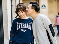 Ảnh đời thường ngọt ngào của Trấn Thành và Hari Won