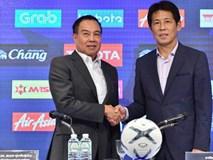 Ra mắt truyền thông Thái, HLV Nishino mạnh miệng nói về trận gặp Việt Nam