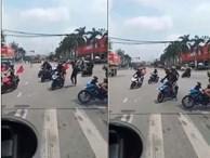 Hải Dương: Nhóm phượt thủ ngang nhiên chặn ngã tư đèn đỏ cho đoàn xe đi như xe ưu tiên khiến cộng đồng mạng phẫn nộ